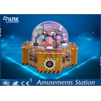 China Candy Project Four Players Amusement Game Machines  Children Crane Candy Game Coin Operated Vending Machine wholesale