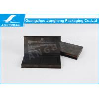 China Fashion Elegant Pen Packaging Box Black Paper Customized With Outer wholesale