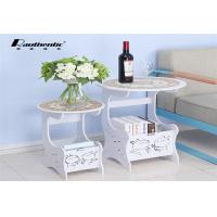 China A few simple Tuzki round round table creative cute storage Mini leisure side a few a few simple small angle table wholesale