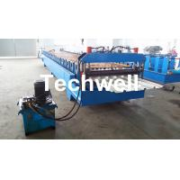 China Hydraulic cutting Trapezoidal Roof Deck Roofing Sheet Making Machine TW38-200-1000 wholesale