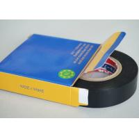 China Black 0.2MM Thickness PVC Electrical Tape Rubber SGS And ROHS Certificate wholesale