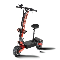 Buy cheap Fast Speed 85KM/H Scooters 60V 28/33/38AH battery 5600W motor electric scooter from wholesalers