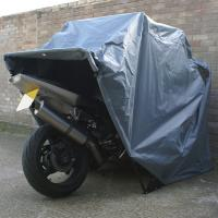 Waterproof motorcycle folding cover single layer motor storage tent of caravanfullawning - Motorcycle foldable garage tent cover ...