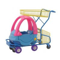 China Plastic Kids Grocery Cart Childrens Shopping Trolley Supermarket  Steel Toy Car on sale