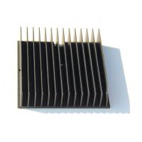 China Black Anodized 6005-T5 Aluminium Heatsink Extrusions , Finished Machining wholesale