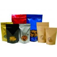 stand up coffee pouch with zip , food bag manufacturers , food bag meals