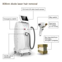 China Cutting edge beauty equipment 808nm diode laser permanent hair removal on sale