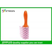 China Disposable Lint Roller Remover With Printe Paper Multi Function 6CM / 10CM / 16CM wholesale