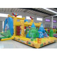 China Big Interactive Challenge Sport Game Inflatable Obstacle Course Combo For Kids Play wholesale