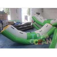 China 0.9mm PVC Tarpaulin Water Park Game , EN15649 Inflatable Seesaw Toys wholesale