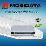 China 3G HSUPA WiFi Router 4 LAN Ports+2 External Antennas (MBD-R100) wholesale