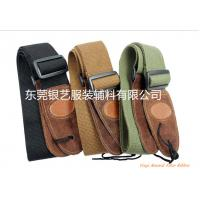 China High-Grade Cotton Thick Leather Head General Guitar Strap on sale