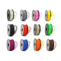 China Colored 3D Printer ABS Filament Oil Based 1.75mm / 3mm SGS ROHS wholesale
