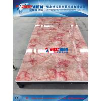 Hot sale! 1220mm PVC wall decoration sheet extrusion line/production line/making machine