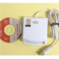 China white contact card  Reader writer with pc/sc USB interface complie with ISO7816 protocol support sle4442card on sale