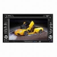 China Car DVD Player with Double Din, 6.2-inch HD Touchscreen, 3D, GUI GPS + 2GB and Free Map on sale