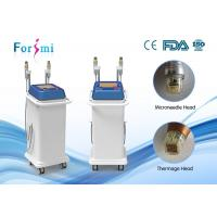 China 2 head 2 years warranty easy to delegates infini microneedle infini radio frequency face lift wholesale