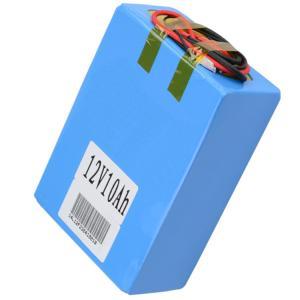 China Testing Equipment NMC 12.8V 10Ah Lifepo4 Battery Pack KC 2000 Cycle wholesale