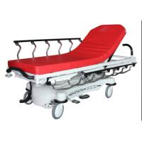 China Red Color ABS Luxury Stretcher Hospital Emergency Bed , Easy To Clean wholesale