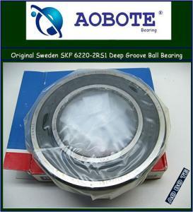 China SKF 6220-2RS1Deep Groove Ball Bearing Single Row , High Speed wholesale