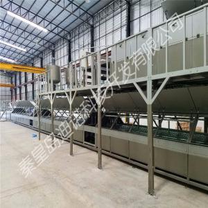 China Intelligent Automatic Fiber glass FRP gel coat roofing sheet making machine on sale