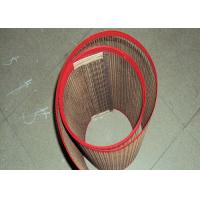 China Waterproof PTFE Mesh Joint For Baking Mat / Food Processing Gridding Cloth wholesale