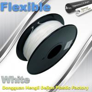 China 1.75 / 3.00mm Elastic Filament For 3D Printers Makerbox / Reprap wholesale