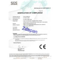 Zdapan Manufacturing Co.,Ltd Certifications