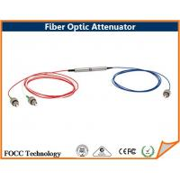 China Inline Fixed Value Fiber Optic Attenuator Single Mode With ST FC SC LC Connector on sale
