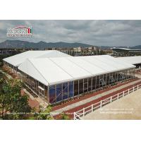 China 25 Meter Width Glass Marquee Tent For Temporary Horse Riding Tear Resistant wholesale