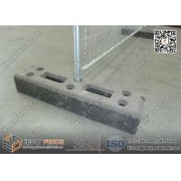 China Recycled Rubber Block Feet for Temporary Fence | China Supplier wholesale