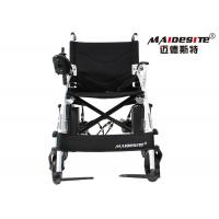 China 14 Inches Electric Assisted Wheelchair , Lightweight Compact Wheelchair wholesale