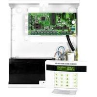 China 900Mhz Wired and Wireless GSM Burglar Alarm Control Panel with Rechargeable Circuit wholesale