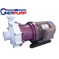 China ZMD Fluorine plastic self-priming magnetic pump red cast Iron / Industrial Centrifugal Pumps wholesale