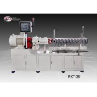 China Laboratory Polymer Extrusion Machine For Reinforcing / Filling Process wholesale