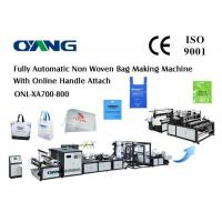 High Speed Ultrasonic Non Woven Fabric Bag Making Machine For Six Kinds Bag