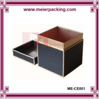 Wholesale Offset printing matte black deluxe paper candle retail packaging with lid from china suppliers