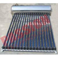 China Automatic Solar Water Heating System , Black Pipe Solar Water Heater Multi Purpose wholesale