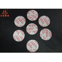 China Biodegradable Fiber Desiccant , Round Shaped Moisture Absorbent Packs For Pharmaceuticals wholesale