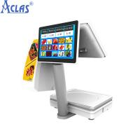 Quality Touch Screen POS Scale With Best Price,PC Scale,Electronic Scale,Balance,Electronic Balance for sale