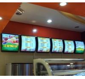 China RESTAURANT MENU BOARD,PICTURE MENU SLIM LIGHT BOX,fast food menu, KFC menu LED light box ,mcdonald