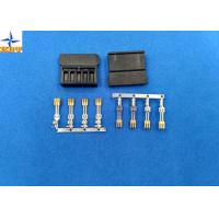 China brass material Gold - Plated Signal Wire To PCB crimp Connectors terminals with 1.27mm Ptich wholesale