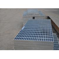 China 32 X 5mm Steel Walkway Grating , Flat Hot Dipped Galvanised Steel Grating wholesale
