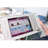 China Square Medical Touch Screen Monitor 12.1 Inch Size 24 Bit RGB Interface wholesale