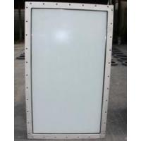 China Aluminum Double Layer Soundproof Hollow Marine Glass Windows For Engine Room on sale