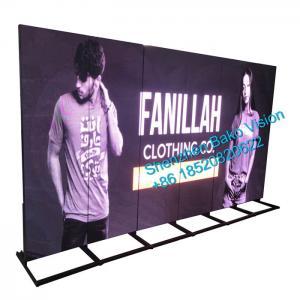 China 1000 Nits Digital Advertising Display Screens , P2.5 HD Movie Poster Display wholesale