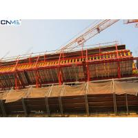China Safety Cantilever Scaffolding System , Self Climbing Scaffold System wholesale
