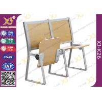 Lecture Hall Seats Attached School Desks And Chair Wooden Folding Furniture