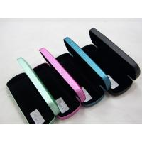 China Portable Stitched Metal Optical Glasses Case , Personalised Hard Glasses Case wholesale