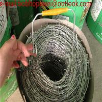 Buy cheap weight of barbed wire per meter length/100m Barbed wire length per roll/pvc coated galvanized barbed wire length per rol from wholesalers